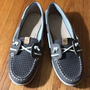 New Sperry Top Siders Gray size 7